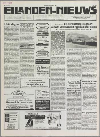 Eilanden-nieuws. Christelijk streekblad op gereformeerde grondslag 1985-11-01