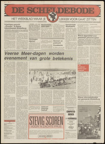 Scheldebode 1985-06-20