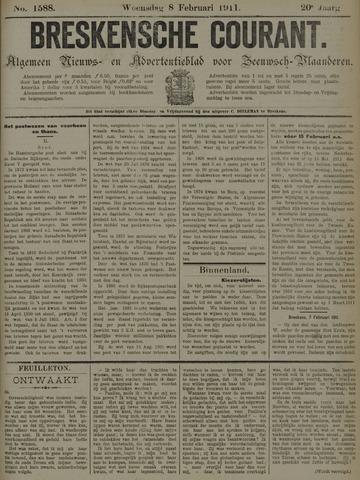 Breskensche Courant 1911-02-08