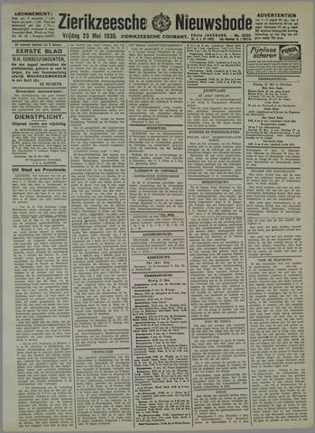 Zierikzeesche Nieuwsbode 1930-05-23