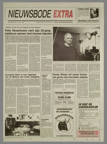 Zierikzeesche Nieuwsbode 1994-04-13