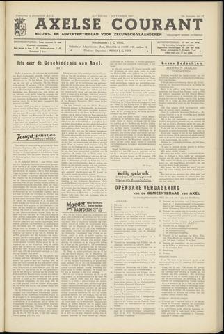 Axelsche Courant 1962-09-01