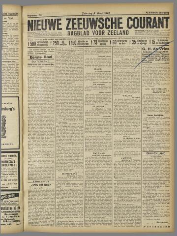 Nieuwe Zeeuwsche Courant 1922-03-04