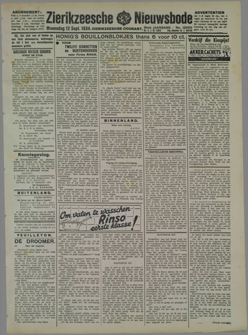 Zierikzeesche Nieuwsbode 1934-09-12
