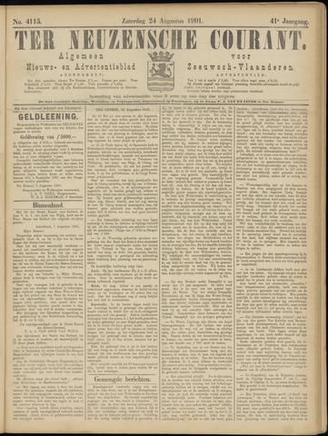 Ter Neuzensche Courant. Algemeen Nieuws- en Advertentieblad voor Zeeuwsch-Vlaanderen / Neuzensche Courant ... (idem) / (Algemeen) nieuws en advertentieblad voor Zeeuwsch-Vlaanderen 1901-08-24