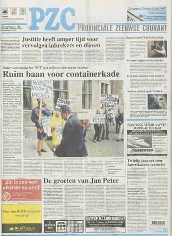 Provinciale Zeeuwse Courant 2002-10-05
