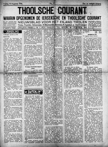 Ierseksche en Thoolsche Courant 1944-08-18
