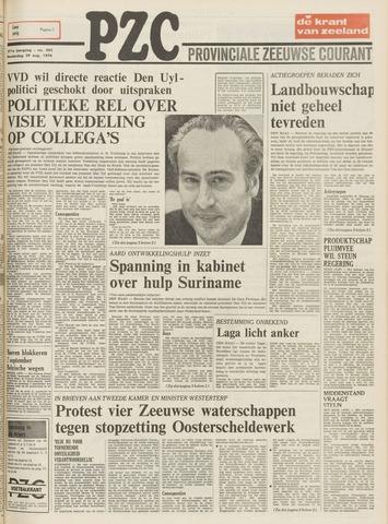 Provinciale Zeeuwse Courant 1974-08-29