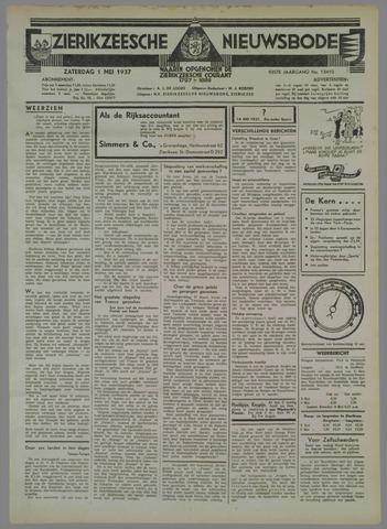 Zierikzeesche Nieuwsbode 1937-05-01