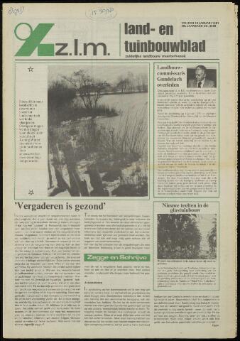 Zeeuwsch landbouwblad ... ZLM land- en tuinbouwblad 1981-01-16