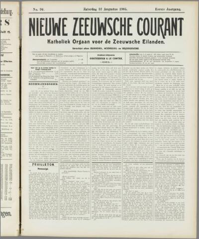 Nieuwe Zeeuwsche Courant 1905-08-12