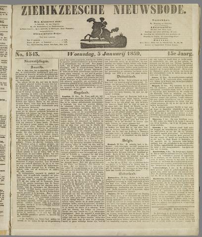Zierikzeesche Nieuwsbode 1859