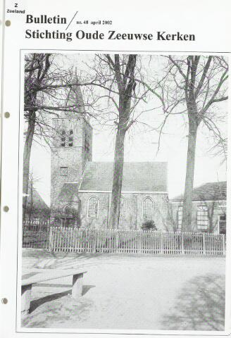 Bulletin Stichting Oude Zeeuwse kerken 2002-04-01