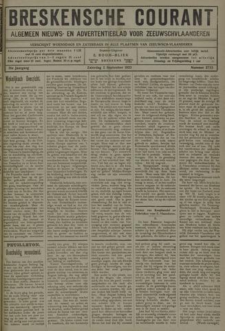 Breskensche Courant 1922-09-02