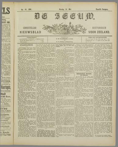 De Zeeuw. Christelijk-historisch nieuwsblad voor Zeeland 1898-05-10