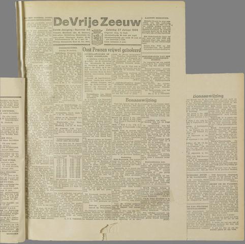de Vrije Zeeuw 1945-01-27