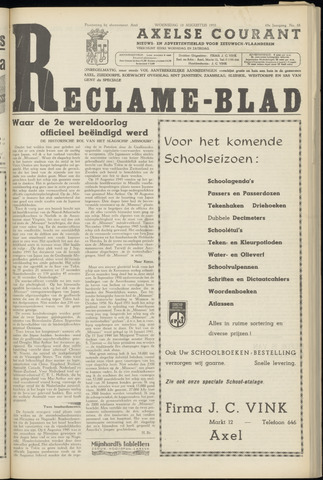 Axelsche Courant 1955-08-10