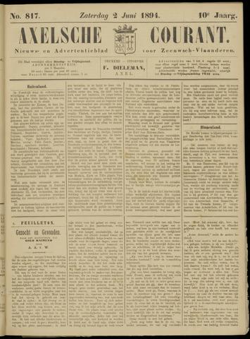 Axelsche Courant 1894-06-02