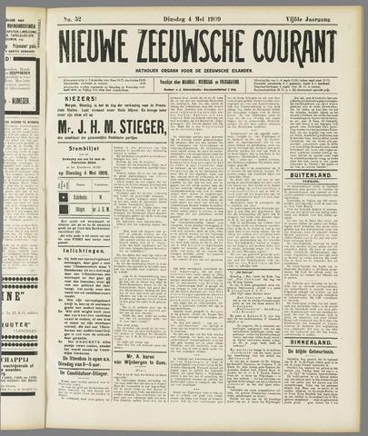 Nieuwe Zeeuwsche Courant 1909-05-04
