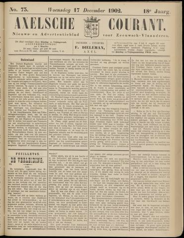 Axelsche Courant 1902-12-17