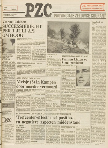 Provinciale Zeeuwse Courant 1974-04-06