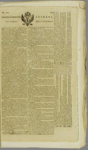 Middelburgsche Courant 1805-11-16