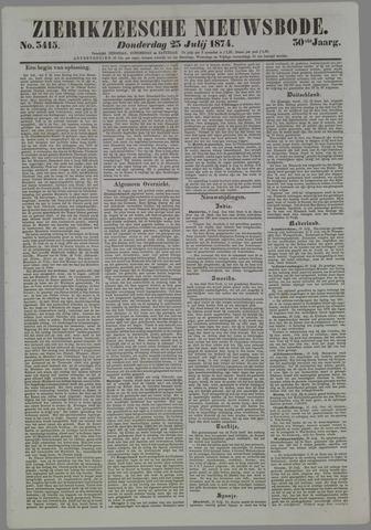 Zierikzeesche Nieuwsbode 1874-07-23