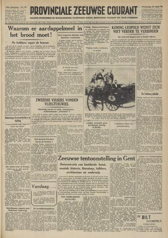 Provinciale Zeeuwse Courant 1950-04-26