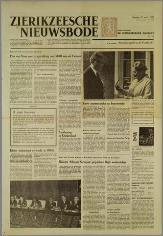 Zierikzeesche Nieuwsbode 1970-04-21