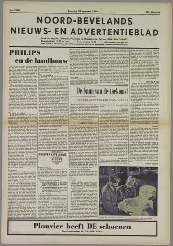 Noord-Bevelands Nieuws- en advertentieblad 1965-08-28