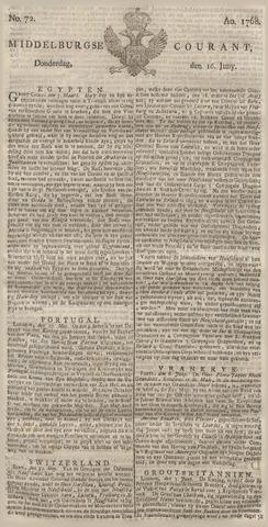 Middelburgsche Courant 1768-06-16