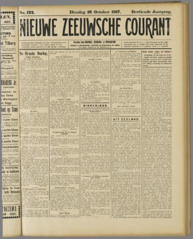 Nieuwe Zeeuwsche Courant 1917-10-16