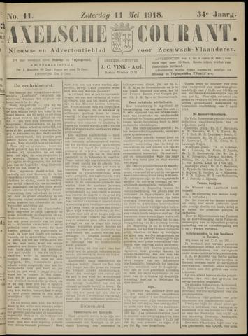 Axelsche Courant 1918-05-11