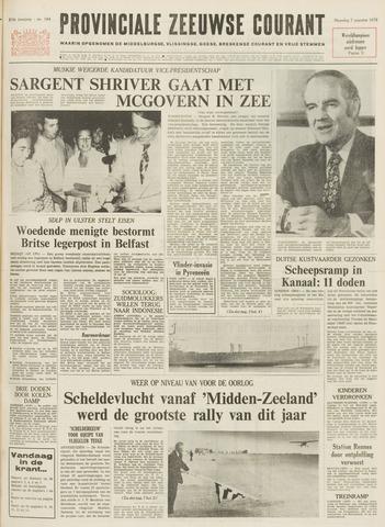 Provinciale Zeeuwse Courant 1972-08-07