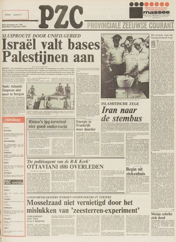 Provinciale Zeeuwse Courant 1979-08-04