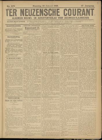 Ter Neuzensche Courant. Algemeen Nieuws- en Advertentieblad voor Zeeuwsch-Vlaanderen / Neuzensche Courant ... (idem) / (Algemeen) nieuws en advertentieblad voor Zeeuwsch-Vlaanderen 1928-01-30