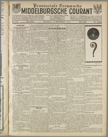 Middelburgsche Courant 1930-11-10