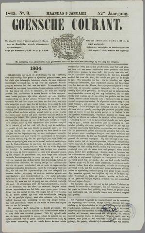 Goessche Courant 1865-01-09