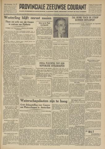 Provinciale Zeeuwse Courant 1950-01-27