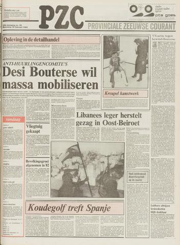Provinciale Zeeuwse Courant 1983-02-16