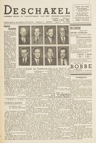 De Schakel 1954-11-05
