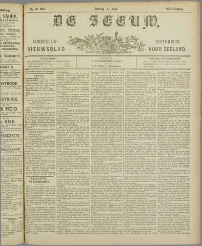 De Zeeuw. Christelijk-historisch nieuwsblad voor Zeeland 1897-04-03