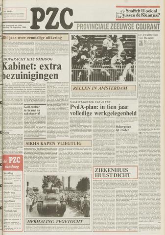 Provinciale Zeeuwse Courant 1984-08-25