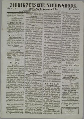 Zierikzeesche Nieuwsbode 1874-01-10