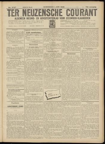 Ter Neuzensche Courant. Algemeen Nieuws- en Advertentieblad voor Zeeuwsch-Vlaanderen / Neuzensche Courant ... (idem) / (Algemeen) nieuws en advertentieblad voor Zeeuwsch-Vlaanderen 1938-06-01