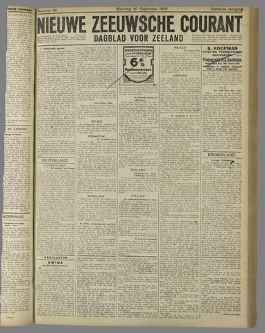 Nieuwe Zeeuwsche Courant 1920-09-20