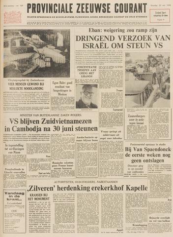 Provinciale Zeeuwse Courant 1970-05-25