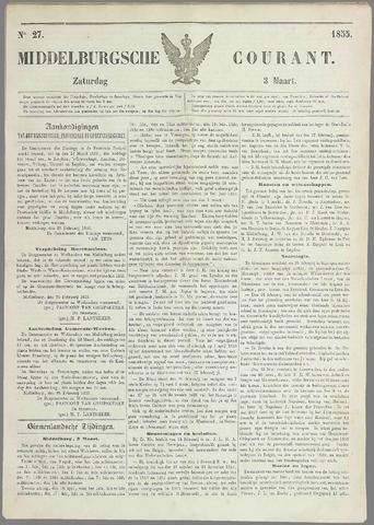 Middelburgsche Courant 1855-03-03
