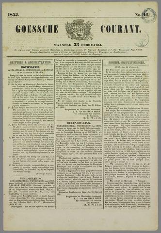Goessche Courant 1852-02-23