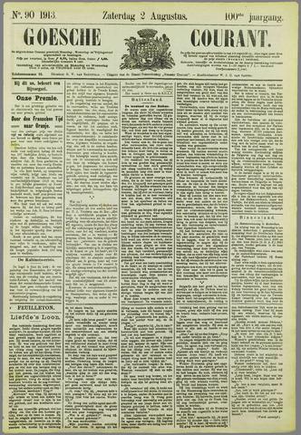 Goessche Courant 1913-08-02